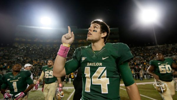 Bryce Petty, Midlothian high school, Baylor Bears, New York Jets