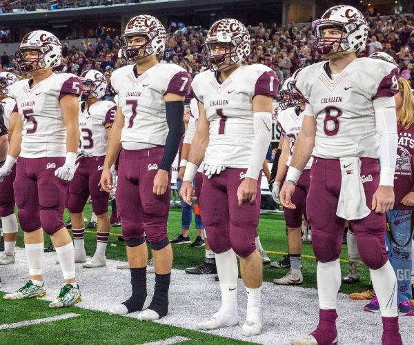 December 16, 2016 - Texas UIL 5A Div. II State Championship game between Aledo and Calallen at AT&T Stadium in Arlington, Texas.  (Image Credit: John Glaser/texashsfootball.com)