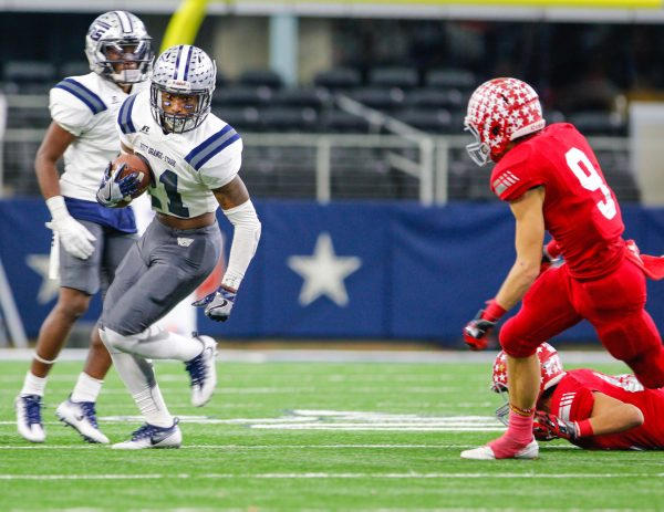 December 16, 2016 - Texas UIL 4A Div. II State Championship game between West Orange-Stark vs Sweetwater at AT&T Stadium in Arlington, Texas.  (Image Credit: John Glaser/texashsfootball.com)