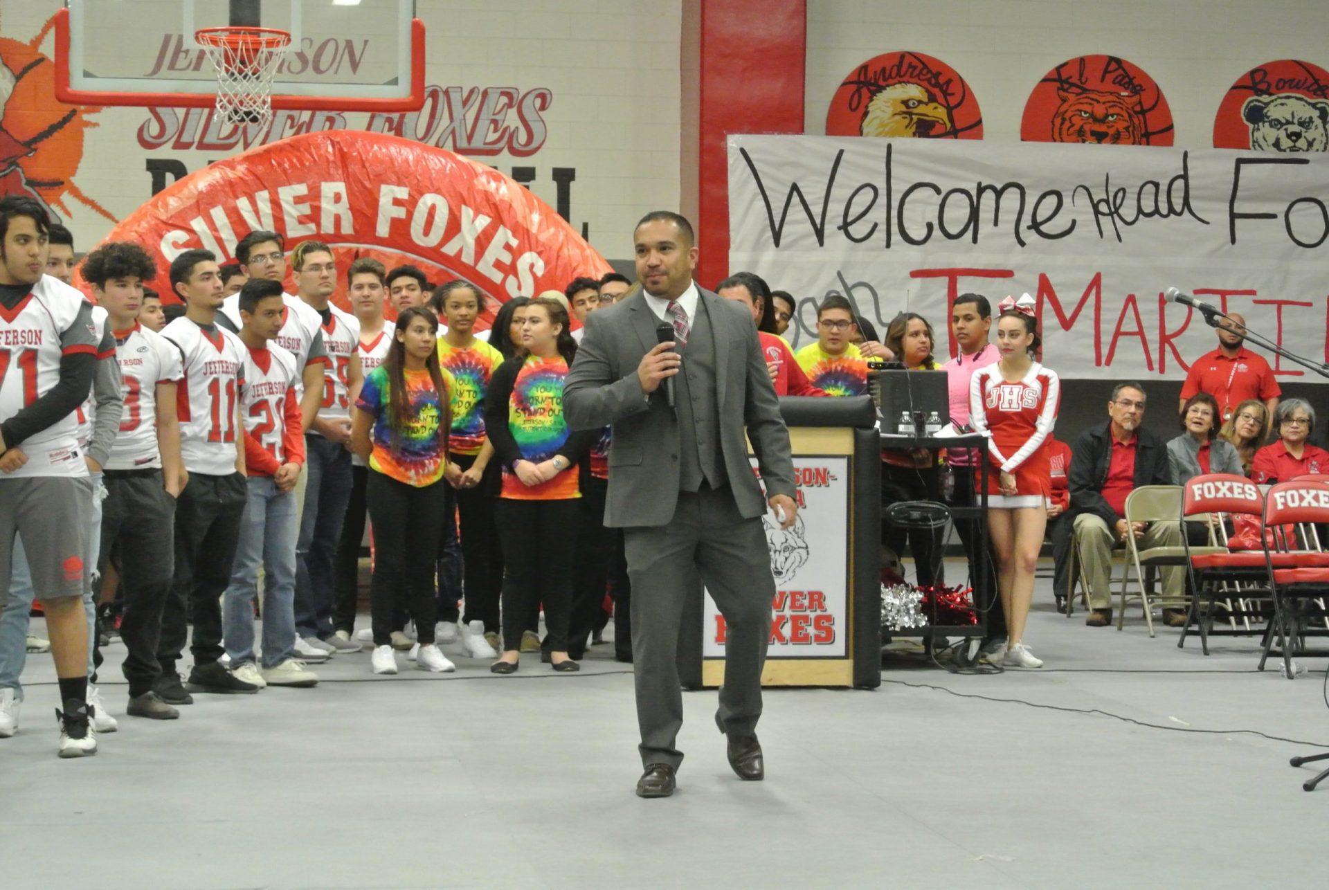 Tony Martinez Looking To Establish Winning Culture At El Paso Jefferson