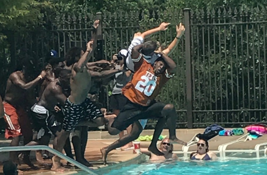 Texas's Recruiting Pool Party