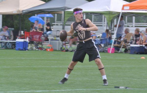 Levelland Quarterback Chris Gerber