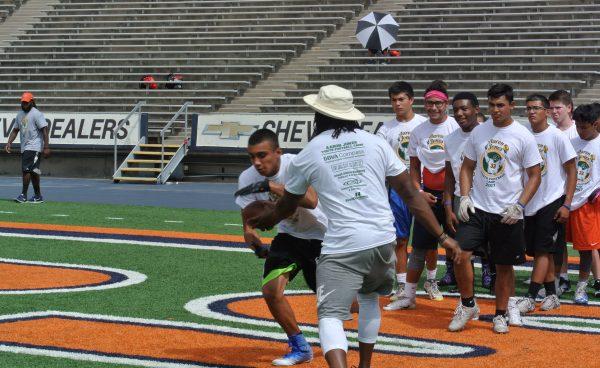 Aaron Jones Youth Football Camp