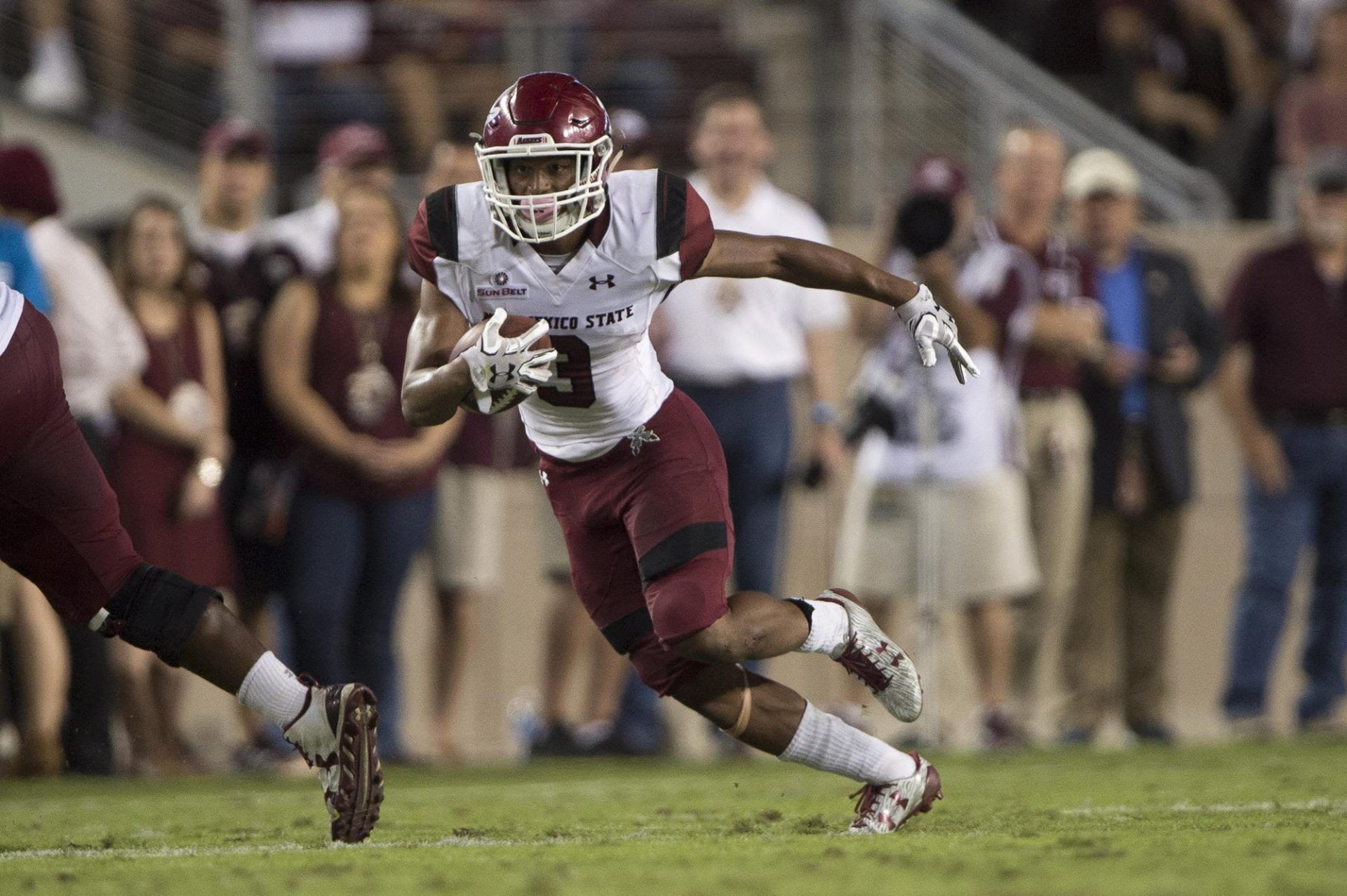 Q&A With Former Fairfield And New Mexico State Running Back Larry Rose III