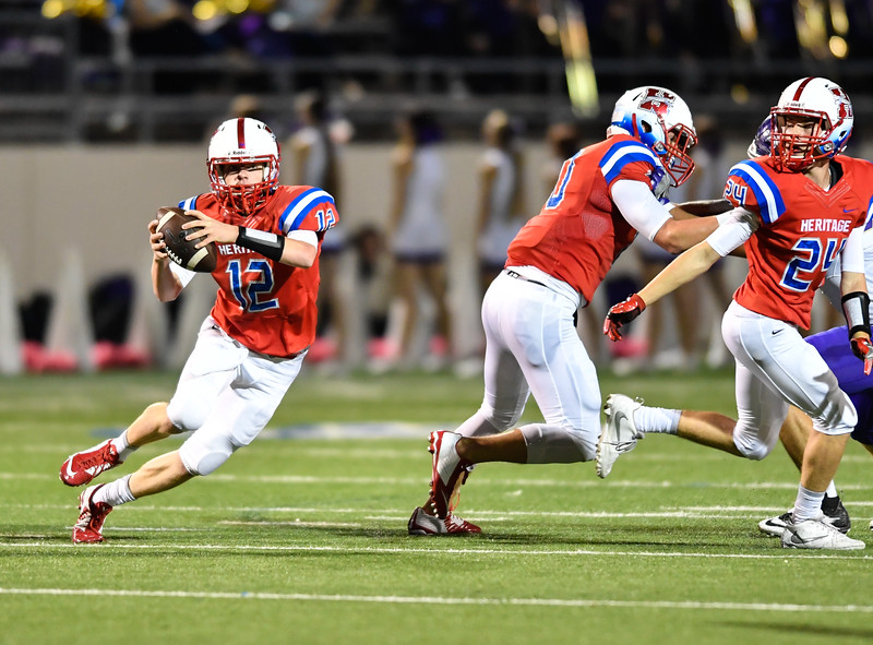 Midlothian Heritage to tangle with Crandall in rematch of 2016 high-scoring affair
