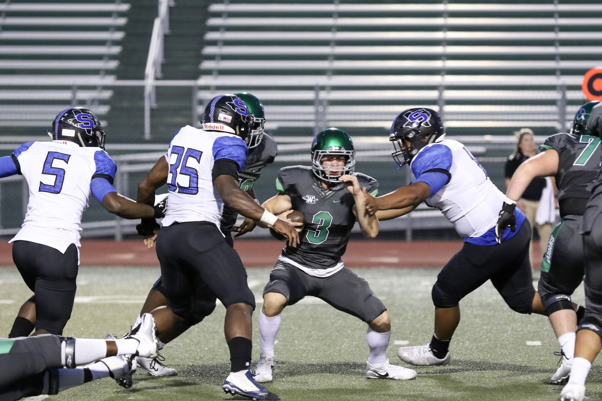 Mansfield Summit smothers offense in second half, rallies to upend Waxahachie at home in district opener