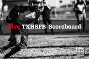 Live Scoreboard: Texas High School Football Scores