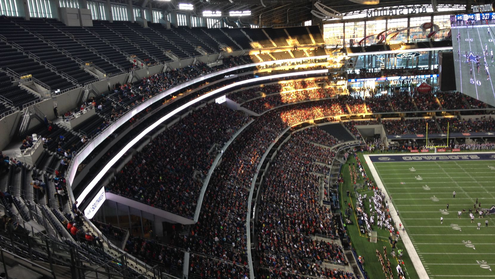 6a Championship Crowds Epitomize Majesty Of Texas High School Football Texas Hs Football