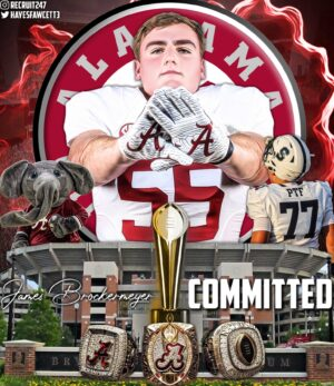 Top-rated Brockermeyer Twins Commit to Alabama over Texas