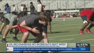 UIL sends memo to schools, suggests shutting down workouts until July 13