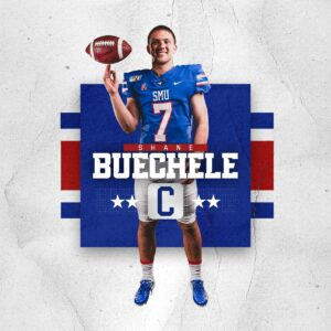 Arlington Lamar Alum Dominates: Buechele, SMU Light up Scoreboard against UNT