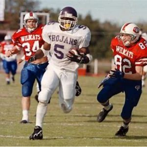 LaDainian Tomlinson is an NFL running back that played high school football in Texas.