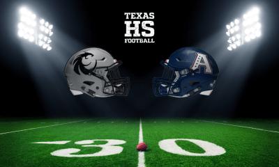 Denton Guyer vs Allen football helmets