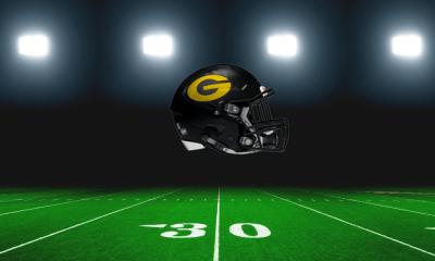 The Garland Owls/football helmet
