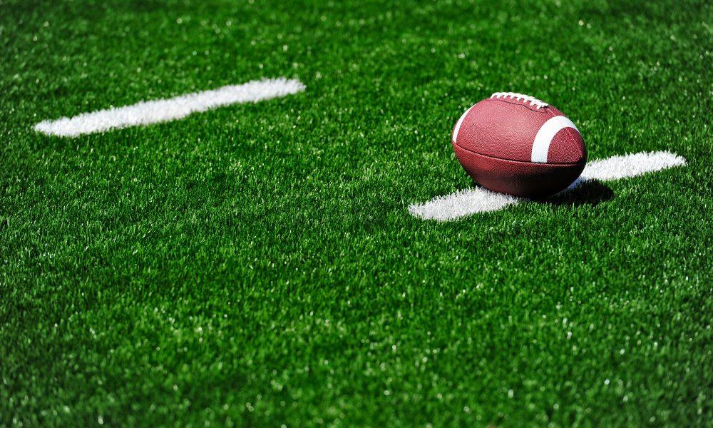 Football on turf/ Georgetown vs Anderson